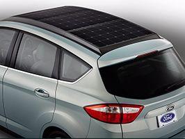 Hadd ragyogjon a napfény: itt a Ford C-MAX Solar Energi