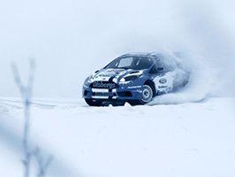 A Ford Fiesta ST Rallycross versenyautó