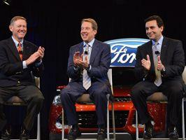 Átadja a stafétát a Ford vezér