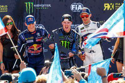 Focus RS RX győzelem a FIA Rallycross Világbajnokságon