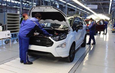 A Ford megkezdi az új EcoSport gyártását