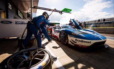 Ford GT a FIA WEC silverston-i futamán