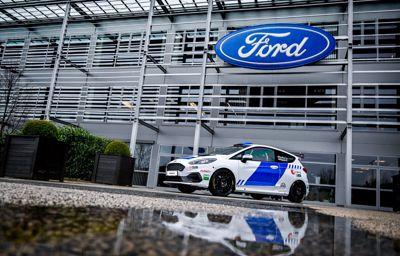 Összefogott a Ford és a Hungarian Police Rally Team