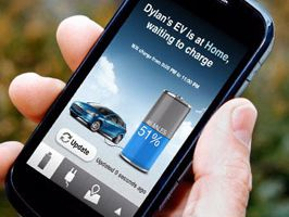 Okostelefon segítségével tölthető elektromos autók
