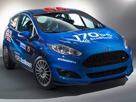 A háromszoros év motorja díjas EcoBoost erőforrás hajtja az új Ford rally autót