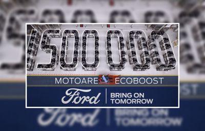 Románia elkészült a másfél milliomodik EcoBoost motor
