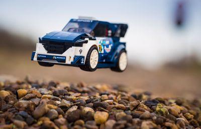 Fiesta WRC rallyautó a LEGO® kínálatában