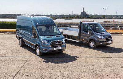 Ford legerősebb áruszállítója 5 tonnás Transit