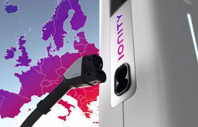 Elektromos töltőpontok Európában