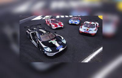 Le Mans előtt tiszteleg a Ford ünnepi versenyautó-fényezése