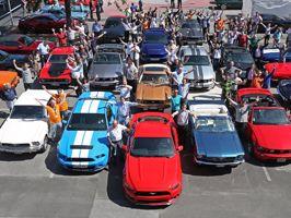 Történelmi Mustang találkozó Németországban