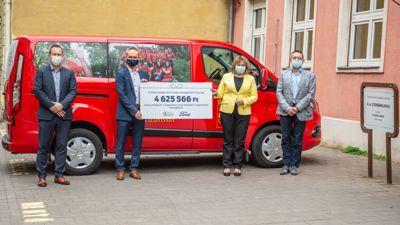 A Ford Magyarország támogatja a beteg gyerekeket