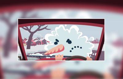 Téli vezetés: nem gyerekjáték!