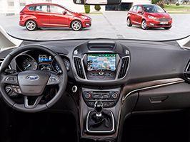 Ford C-MAX intelligens vezetősegítő rendszerek