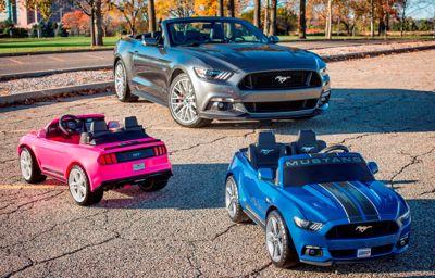 A Ford és a Fisher-Price bemutatja a Mustang gyermekváltozatát