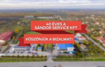 40 éves a Sándor Service Kft.