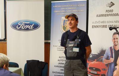 Genius Loci díjat nyert a Ford Karrierprogramja