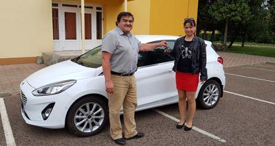 Új Ford Fiesta tanulmányautó átadása