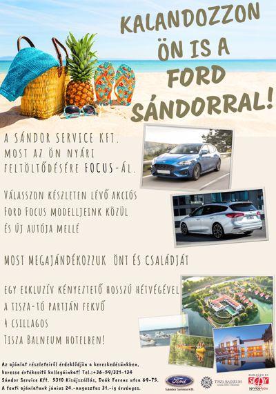 Kalandozzon a Ford Sándorral!