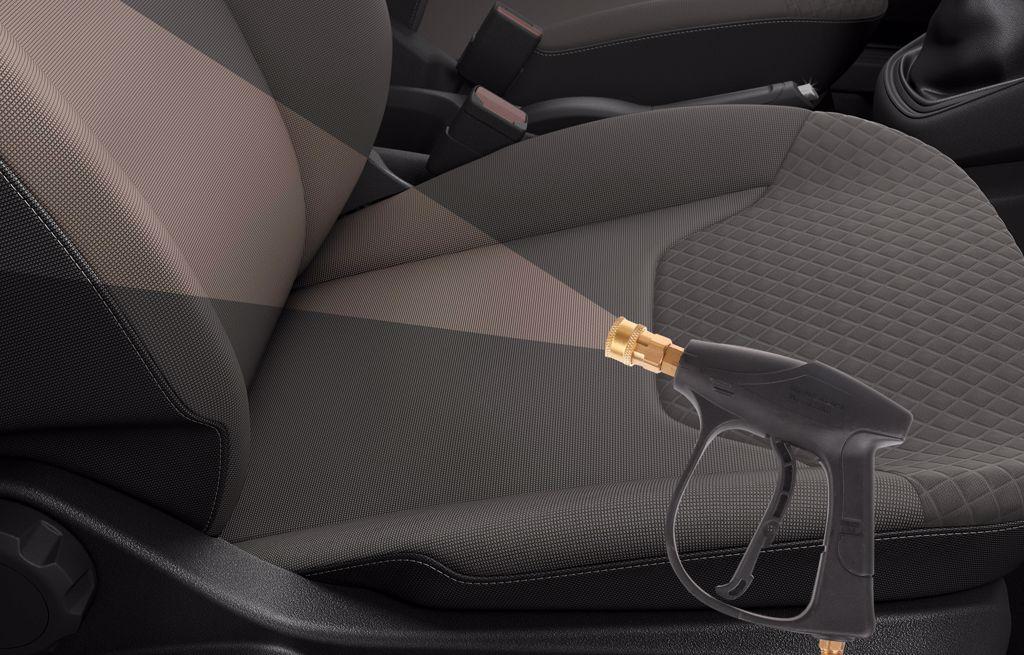 Autó kárpit tisztítás szárazgőzzel