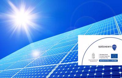 Napelemes rendszer telepítése az AUTÓ-ZENTAI Kft-nél