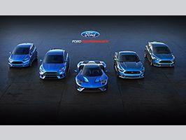 Ford Performance a genfi autószalonon