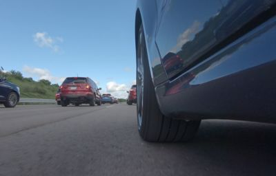 New demonstration shows how Ford driving technology can help reduce phantom traffic jams