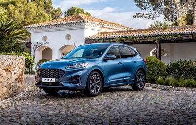 SPORTY AND SLEEK ALL-NEW FORD KUGA