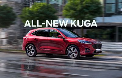 THE OPEN ROAD CALLS - All-New Ford Kuga