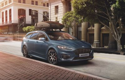 THE OPEN ROAD CALLS - New Ford Mondeo