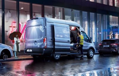 BUSINESS IS LOOKING UP - Ford Transit