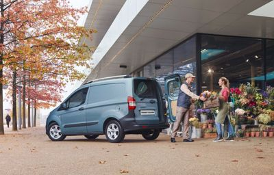 BUSINESS IS LOOKING UP  - New Transit Courier