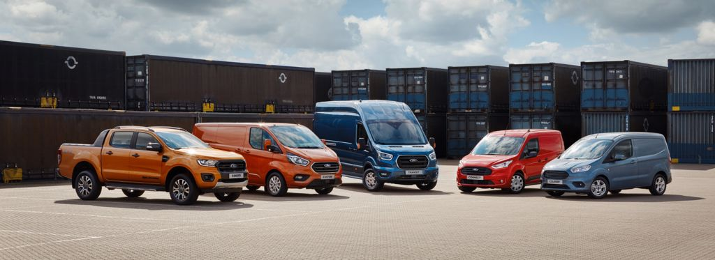 Ford Commercial Vehicles at Sheils, Main Ford Dealer