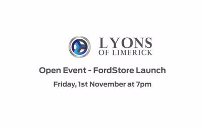 FordStore launch - 1st November