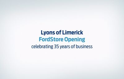 Our brand new FordStore showroom is open!