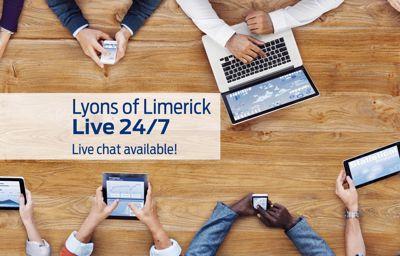 Lyons of Limerick Live 24/7