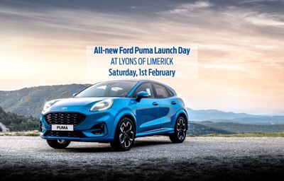 All-New Ford Puma Launch Day - 1st February