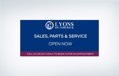 Lyons of Limerick are now open