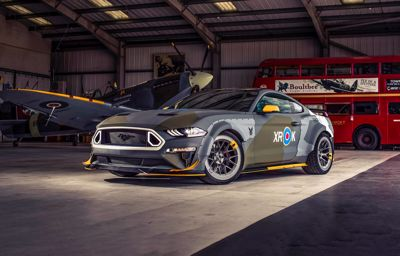 Eagle Mustang soars to $420,000 at charity auction