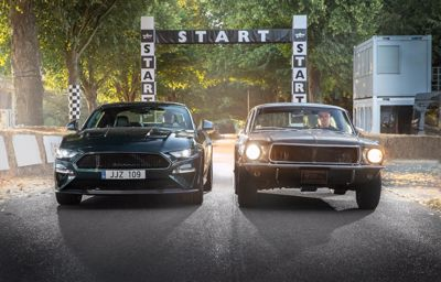 Ford brings silver screen icon to Goodwood