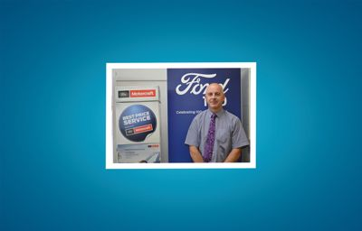 Welcoming John to the Ford After-Sales Team at Lyons of Limerick.