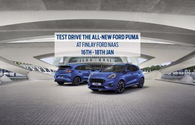 All New Ford Puma Test Drive Event