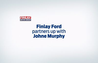 Finlay Ford partners up with Johne Murphy