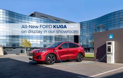 All-New Kuga on display