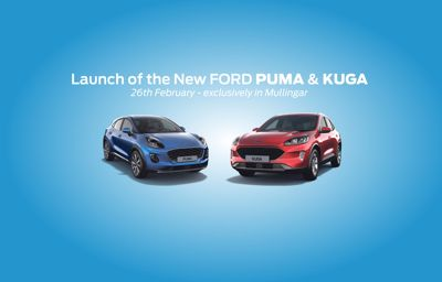 Launch of the New Ford Puma and Kuga in Mullingar!