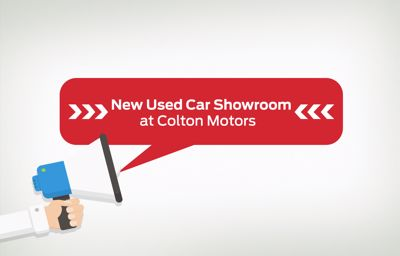 New Used Car Showroom