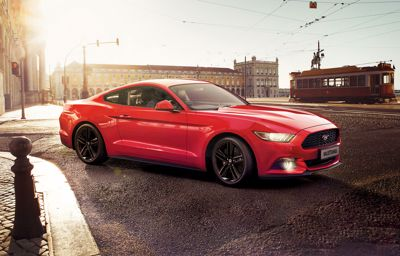 Save over €11,000 off RRP on the Ford Mustang Fastback
