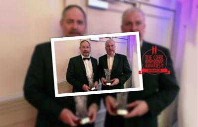 CAB Wins Cork Business of the Year Award 2017