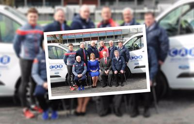 Cork GAA takes delivery of two Ford Transit Customs