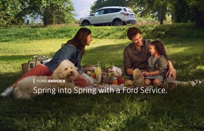 Spring in to Spring with a Ford Service